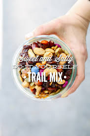 sweet and salty do it yourself trail mix live simply