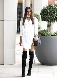 the thigh high boots 35 ways to wear thigh high boots