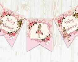 Alice In Wonderland Baby Shower Decorations - alice in wonderland baby shower etsy