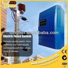 home security wall top wire electric fence energizer view home