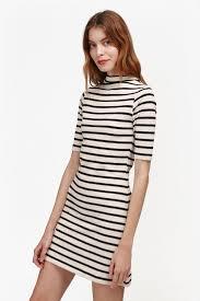 terry stripe dress endource