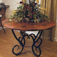 Copper Top Dining Room Tables 25 Best Copper Tables Images On Pinterest Copper Table Dining