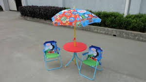 Kids Patio Umbrella Kids Patio Sets 2 Chair 1 Table And Umbrella China Mainland