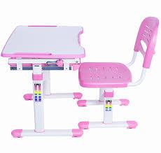 Kid Station Computer Desk by Amazon Com Vivo Height Adjustable Childrens Desk U0026 Chair Set
