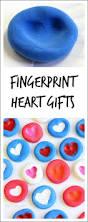 fingerprint heart gifts kids can make