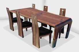 wood dining room tables and chairs welcome to live edge design remarkable natural custom furniture