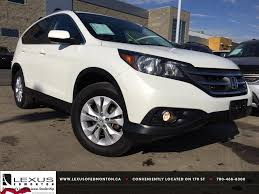 clear lake lexus pre owned pre owned white 2013 honda cr v awd ex l review lacombe alberta
