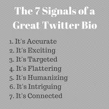 Best Things To Say On A Resume by 7 Key Ingredients Of A Great Twitter Bio Easy To Do Tips