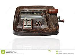 ancient manual calculator royalty free stock image image 26240536