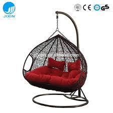 patio ideas patio rattan wicker double seat hanging egg swing