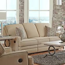 Wolf Furniture Outlet Altoona by Casual Power Reclining Sofa With Throw Pillows By Klaussner Wolf