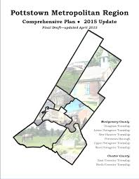 Montgomery County Snow Removal Map Pottstown Metropolitian Region Comprehensive Plan Cover Png