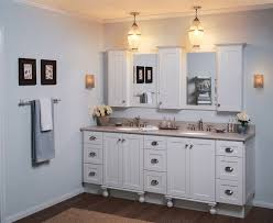 Wood Bathroom Medicine Cabinets With Mirrors by Fine White Pine Wood Bathroom Medicine Cabinet Under Yellow Light