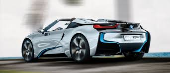bmw concept i8 bmw i8 spyder concept i8 set for beijing debut