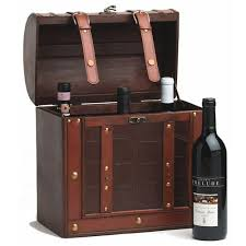 wine bottle gift box chateau 6 bottle antique wood wine storage gift box twine by