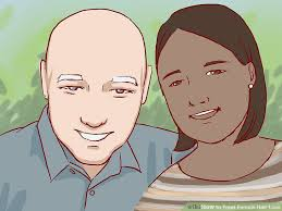 stop womens chin hair growth how to treat female hair loss with pictures wikihow