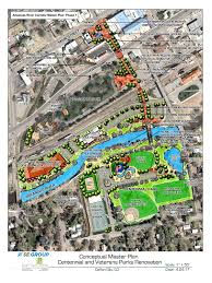 Canyon City Colorado Map by Centennial Park Renovations