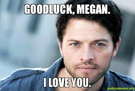 Megan Meme - goodluck megan i love you make a meme