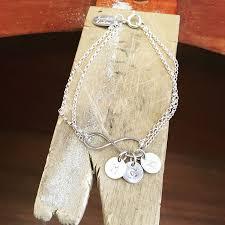 Infinity Bracelet With Initials Kendalljenner Fun Fan Club Scarlett Erskine Jewellery With