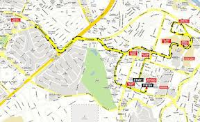 map of the road adidas king of the road kotr 2010 race map fitness
