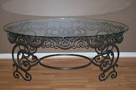 wrought iron coffee table with glass top wrought iron coffee table good latest trend of coffee table legs as