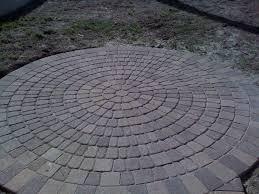 Circle Paver Patio Kits Advice Circular Pavers Circle Patio Paver Designs Orange County