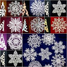 creative ideas diy beautiful paper snowflakes from templates