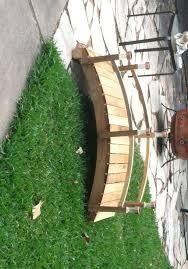 wooden bridge plans over 20 backyard and garden bridge plans planspin wooden bridge
