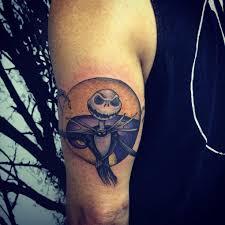 jack skellington tattoo on tricep best tattoo ideas gallery