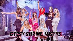 Gypsy Makeup Tutorial Halloween by The Gypsy Shrine The Halloween Misfits Have Arrived Youtube