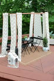 diy mini cabana made from copper pipe
