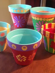 Decorating Clay Pots Kids How To Paint Terracotta Pots Painting Terracotta Pots