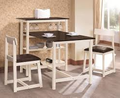 white storage dining table minimalist dining room design with two tone small breakfast tables