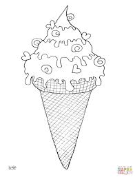 coloring page cone cone coloring page free printable coloring pages