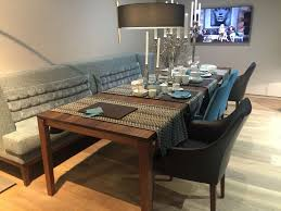 dining room tables with benches and chairs versatile dining table configurations with bench seating