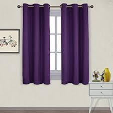 Blackout Purple Curtains Blackout Drape Window Curtain Purple