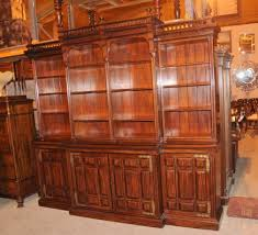 Mahogany Bookcase Victorian Bookcase Antique Dining Room