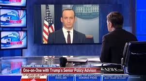 the white house put stephen miller on four sunday shows to dodge