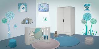 deco chambre bebe bleu modèle décoration chambre bébé bleu decoration guide