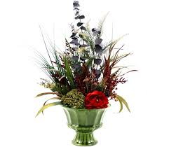 silk flowers arrangements home sheilahight decorations