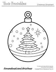 ornaments coloring pages printable eliolera