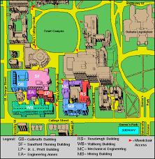 pratt map visitor information electrical computer engineering