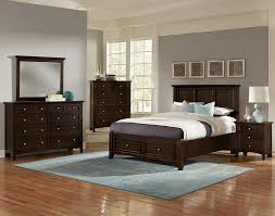 bedroom furniture solid wood red black medium mahogany california