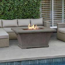 Propane Coffee Table Fire Pit by Tabletop Design Fire Pits Outdoor Heating The Home Depot