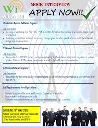 Electronics Engineer Job Description Program Intervensi Ge U201cmock Interview U201d U2013 Portal Fkekk