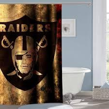 Oakland Raiders Curtains Golden State Warriors Nba Basketball 360 Shower Curtain
