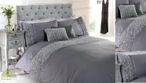 Designer King Size Bedding Sets Silver King Size Bedding White And