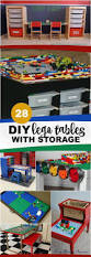 Kids Table With Storage by Best 25 Lego Table With Storage Ideas On Pinterest Play Table