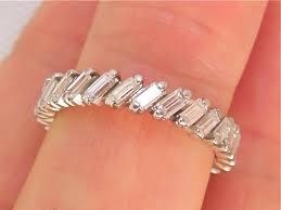 half eternity ring meaning best 25 baguette diamond rings ideas on baguette