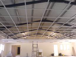 Drop Ceiling Installation by Modern Suspended Ceiling Grid Systems Modern Ceiling Design